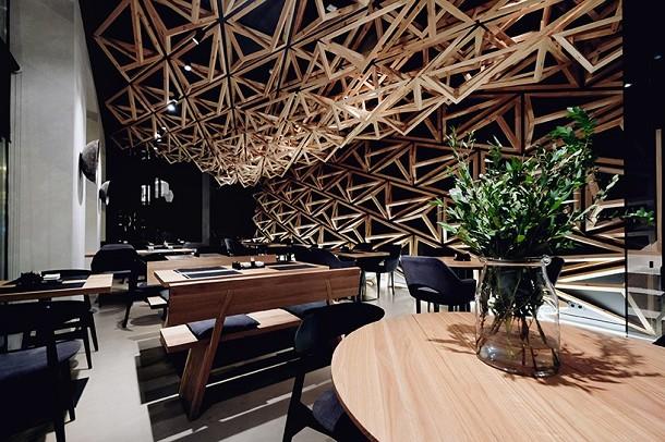 Restaurant bar design show